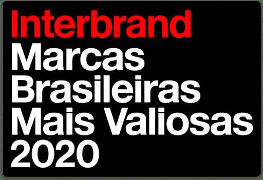 gráfico - Interbrand Marcas Brasileiras Mais Valiosas 2020