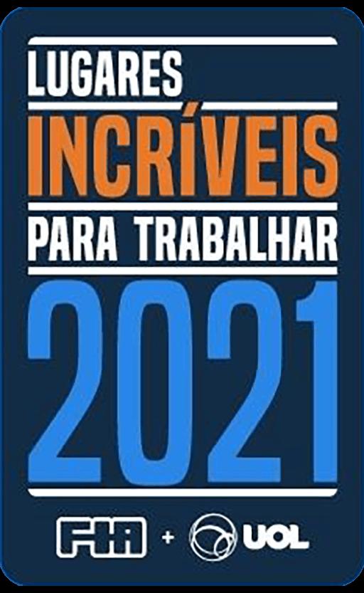 gráfico - Premio - Lugares incríveis para trabalhar 2021