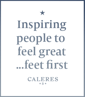 Inspiring people to feel great....feet first.