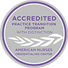 accredited practice transition program with distinction american nurses credentialing center