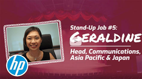 Geraldine: Head, Communications, Asia Pacific & Japan