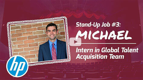 Michael: Intern in Global Talent Acquisition Team