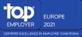 European Top Employer 2021 logo