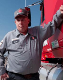 Driver Bill Gomez