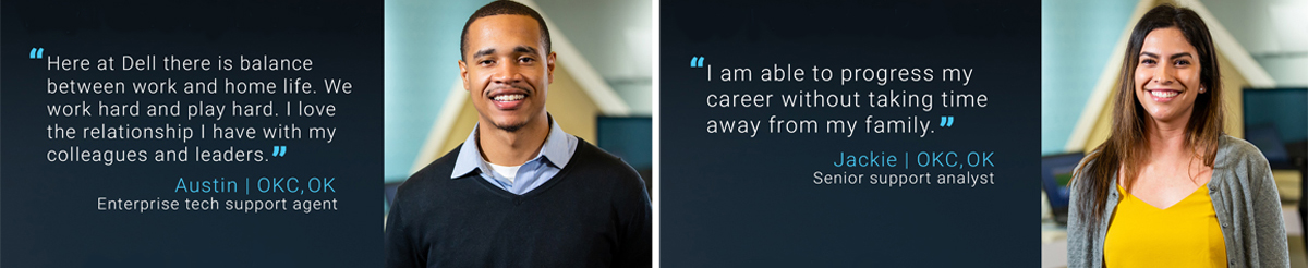 okc team members share their experience working at Dell