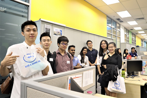 Students visiting our Malaysia office