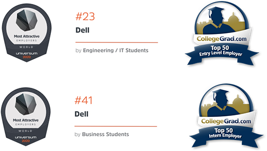 Way Up - Top 100 Internship Programs 2018, Most Attractive Employers USA - Universum 2016, Most Attractive Employers USA - Universum 2016