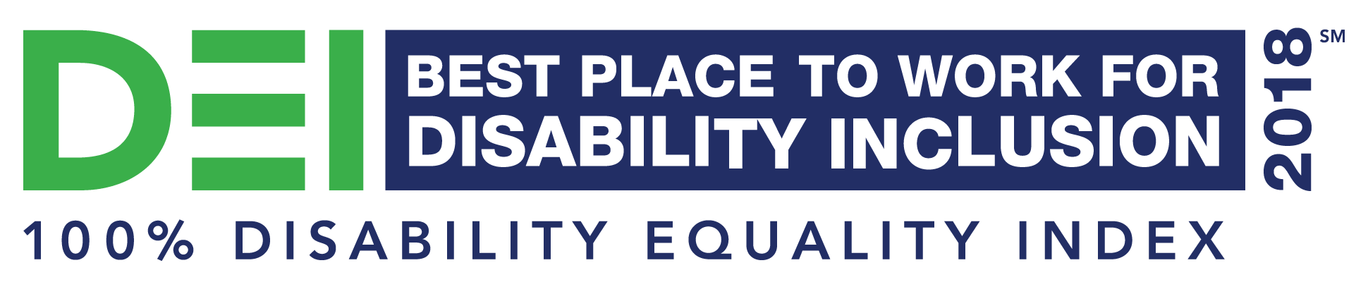 Disability Equality Index, voted Best place to work for Disability Inclusion 2018