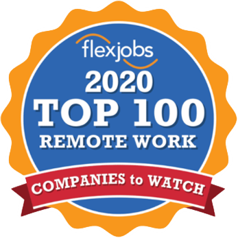 2020 Top 100 Remote Work Company to Watch