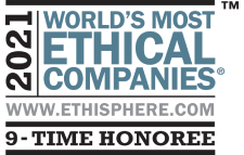 2021 Most Ethical Place to Work