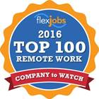 Deuxe won a FlexJobs Top 100 Company to Watch Award in  2016