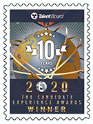 Talent Board 2020 Candidate Experience Award Winner