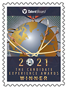 Talent Board 2021 Candidate Experience Award Winner