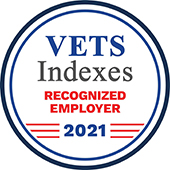 Vets Indexes Recognized Employer Award 2021