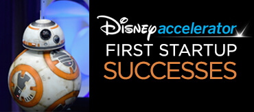 Disney's first batch of startup accelerator success