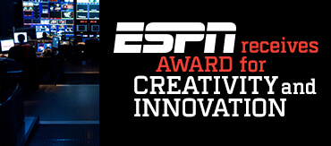 ESPN recieves  Award for Creativity and Innovation