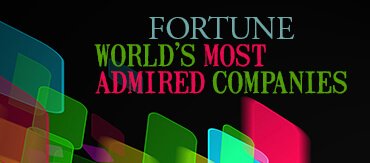 Fortune's World's Most Admired Companies.
