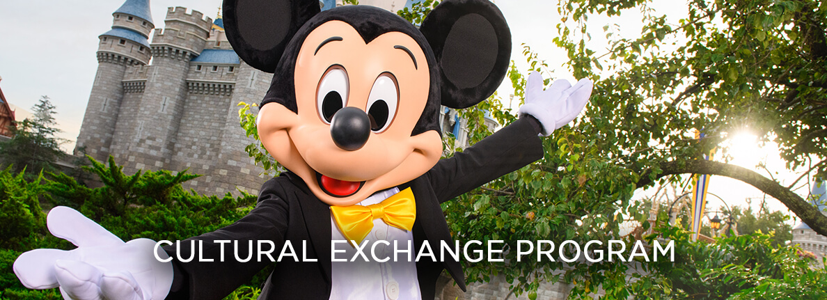 Mickey Mouse - Cultural Exchange Program