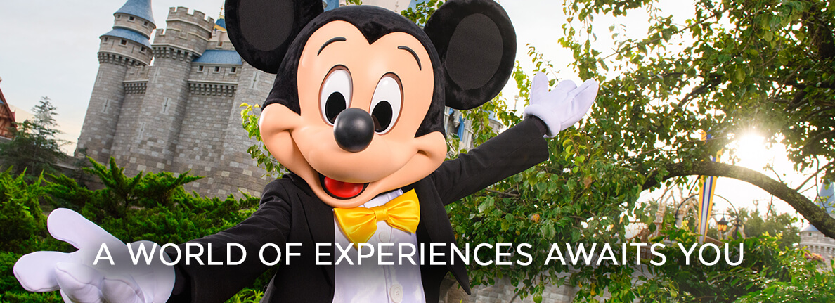 Mickey Mouse - A WORLD OF EXPERIENCES AWAITS YOU
