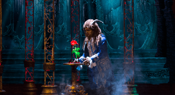 A still of the Beast from the stage show of Beauty & The Beast