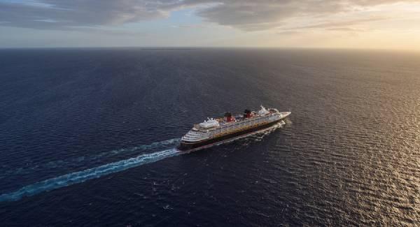 Cruise Liner in the Ocean