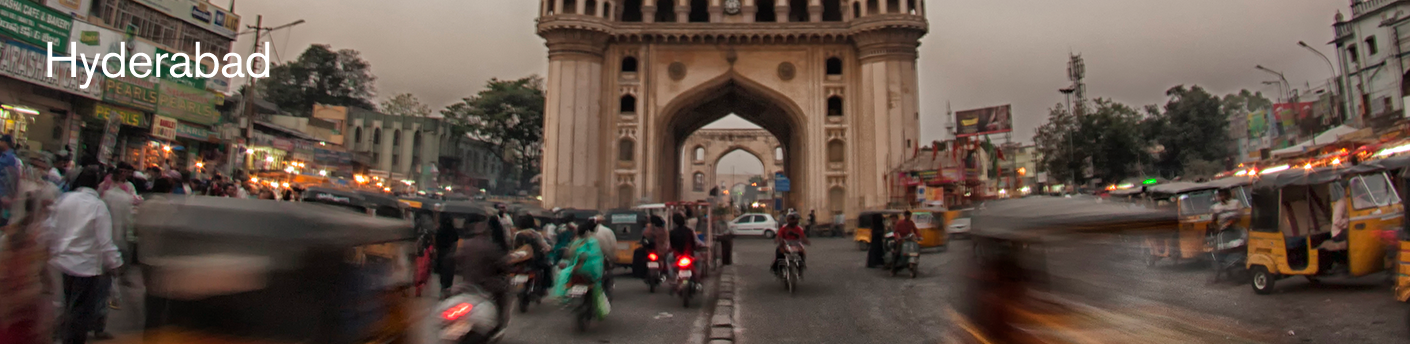 Charminar historic monument in Hyderabad