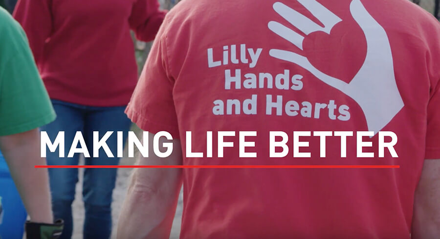 Lilly Global Day of Service: Healthy Lives, Minds & Communities (Video)