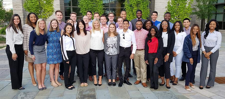 group of interns