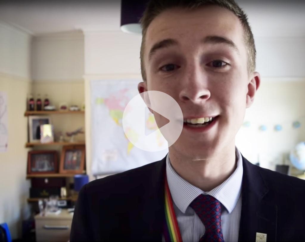 Begleiten Sie James Rodgers durch seinen Arbeitstag - in unserem Video