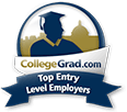 2018 CollegeGrad.com Top Entry Level Employer