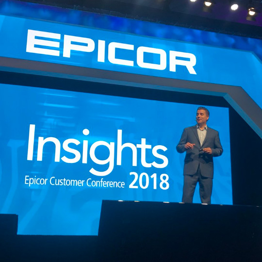 Epicor Customer Conference Experiencing Insights 2018