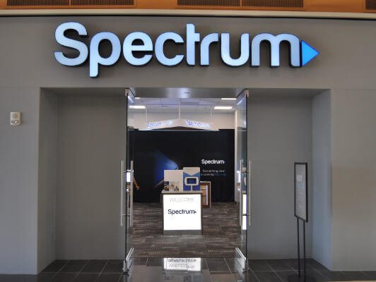 Spectrum retail store front