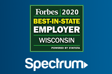 Forbes Best-In-State Employer WI