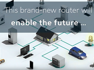 This brand-new router will enable the future...