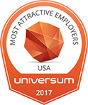 Universim Award Most Attractive Employers USA 2017