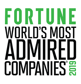 Fortune worlds most admired companies 2109. #1 in innovation