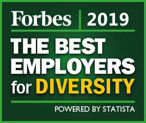Forbes 2019 Best Employers for Diversity