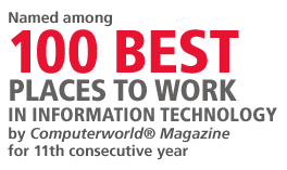 Computer world 100 best places to work