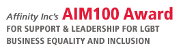 Affinity Inc's Aim100 Award