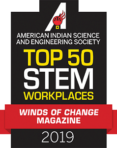 Top 50 Stem Workplaces in 2019