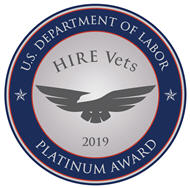 Veterans Platinum Medallion logo