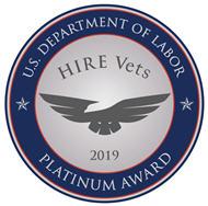 Veterans Platinum Medallion logo