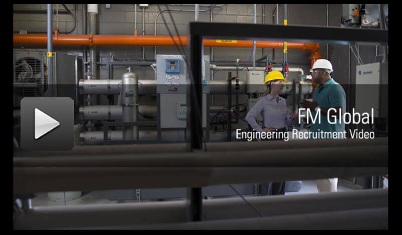 FM Global Engineering Recruitment Video - click to play