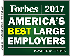Forbes 2017 America's Best Large Employers
