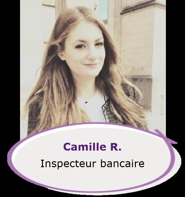 Camille - inspecteur bancaire
