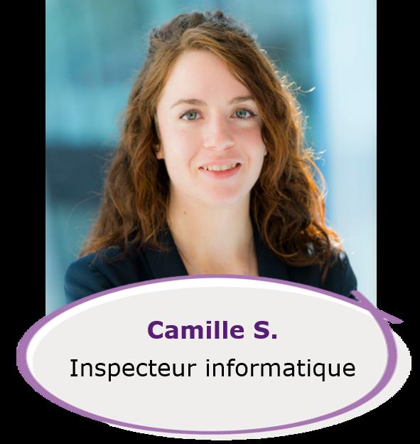 Camille - inspecteur informatique