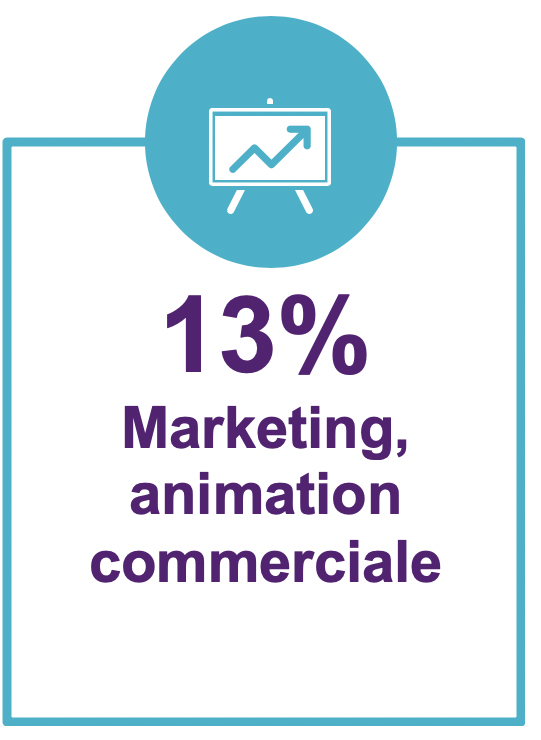 13%marketing et animation commerciale