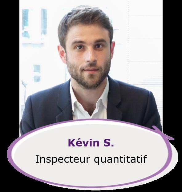 Kevin - inspecteur quantitatif