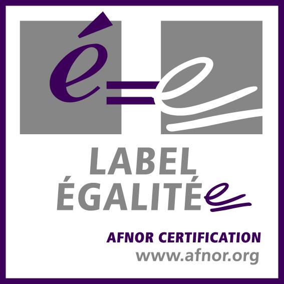 Logo label égalité Afnor
