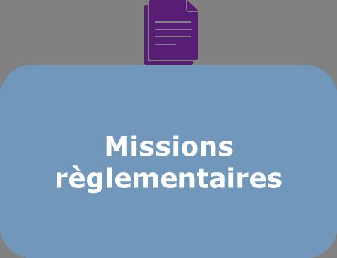 Missions règlementaires